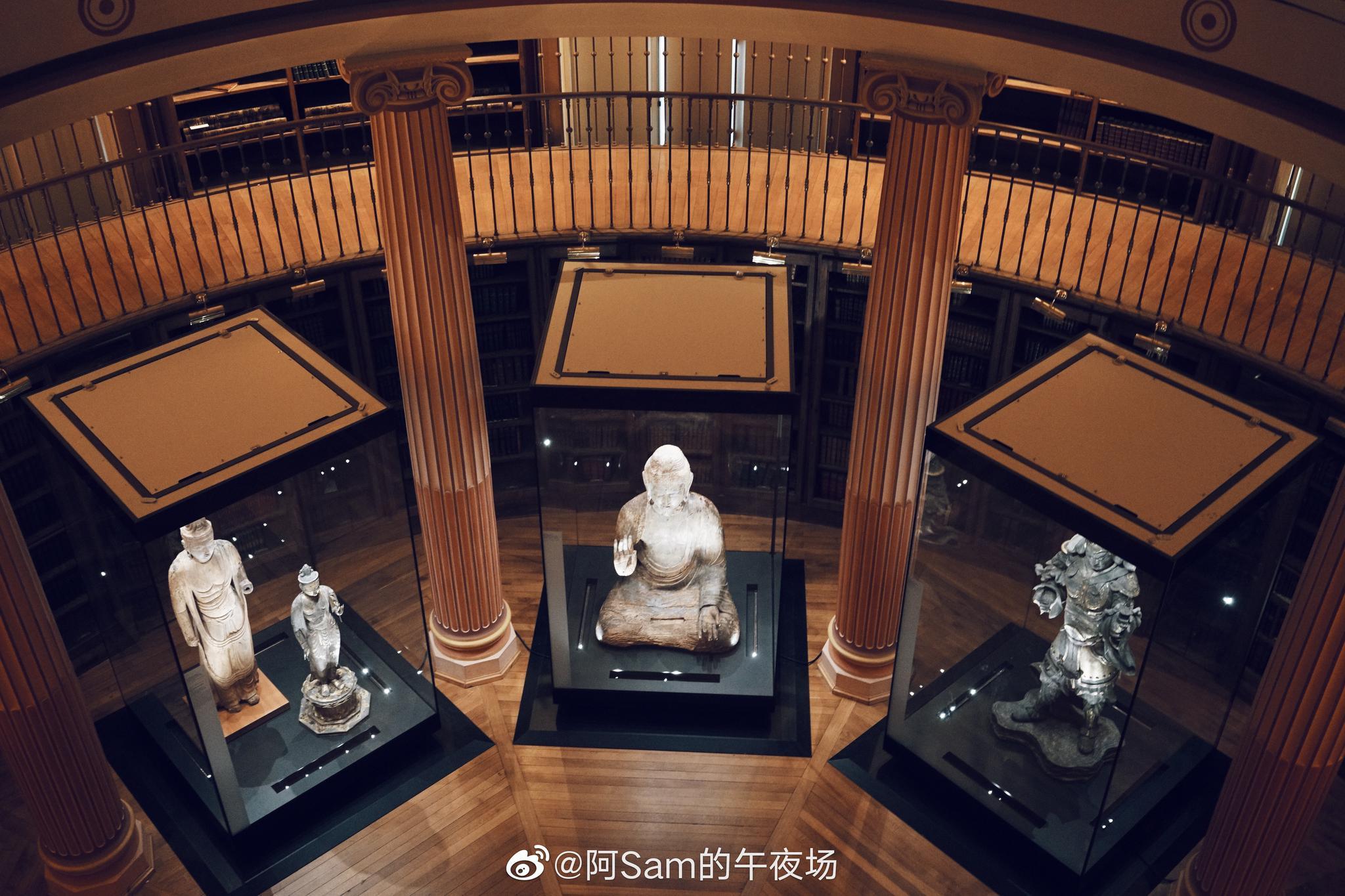 """来巴黎这么多次一次逛""""吉美亚洲艺术博物馆"""",藏品比想象中丰富"""