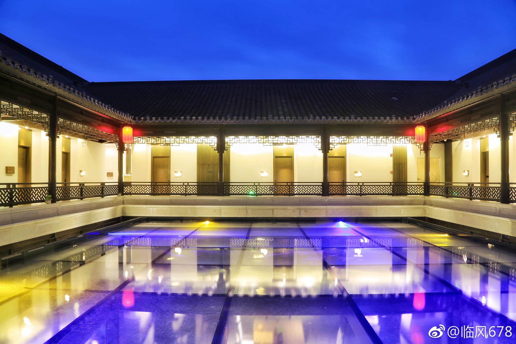 美豪雅致酒店嘉善新西塘店,坐落在新西塘越里图片