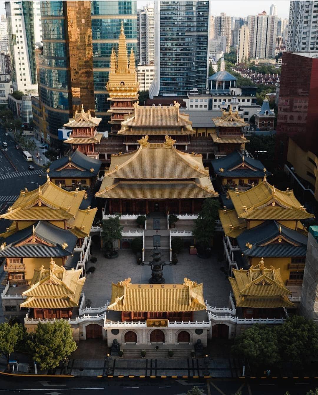 上海静安寺-上海四大佛寺之一