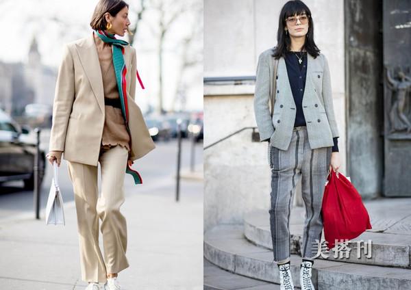 新年开春时髦出街造型,针织开衫搭配外套,你的美丽从此开始