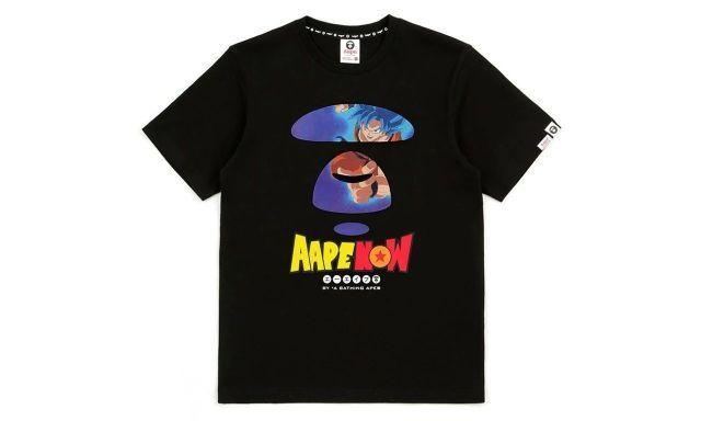 来交情怀税!Aape×《龙珠超》胶囊系列发布,不还是高级文化衫