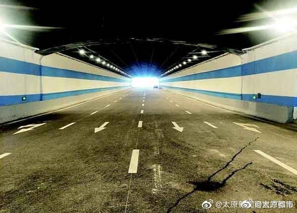 太原迎泽大街东延火车站下穿通道即将通车