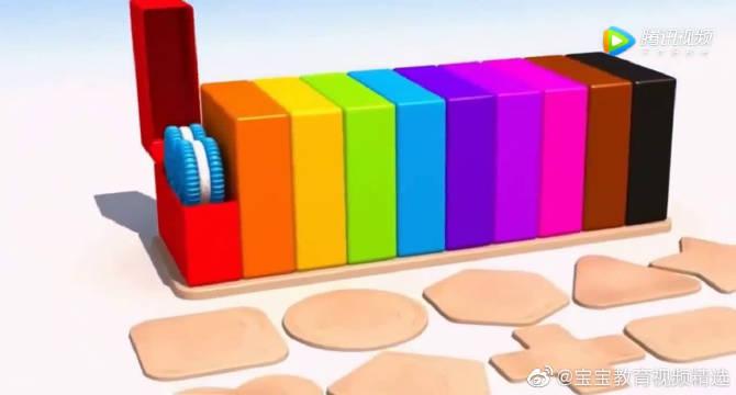 Open the box是打开盒子,Square是正方形,一起来学习英语吧