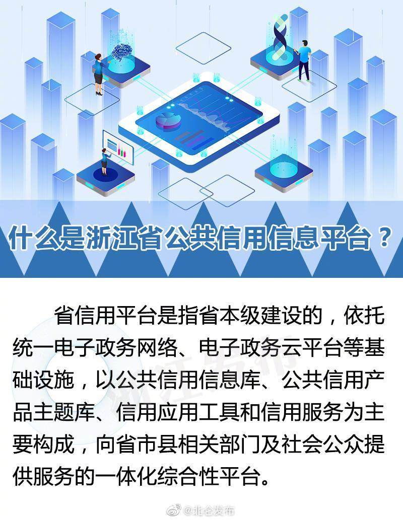 浙江加强公共信用信息平台网络安全管理