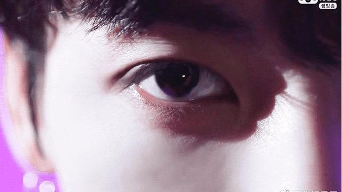 田柾国需要上保险级别的漂亮兔子眼...从未改变的清澈明亮