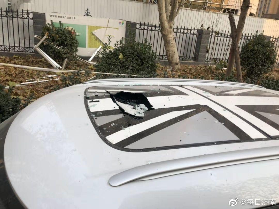 突发!济南一居民楼疑似天然气爆炸!男子被炸出6楼窗外
