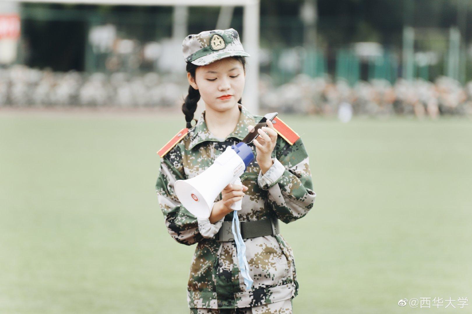青春修炼手册,军训第一课