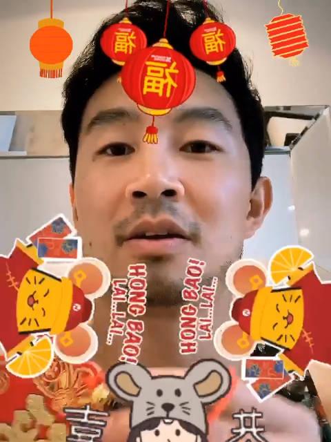 漫威新片《尚气》主演用中文给粉丝拜年,普通话好标准