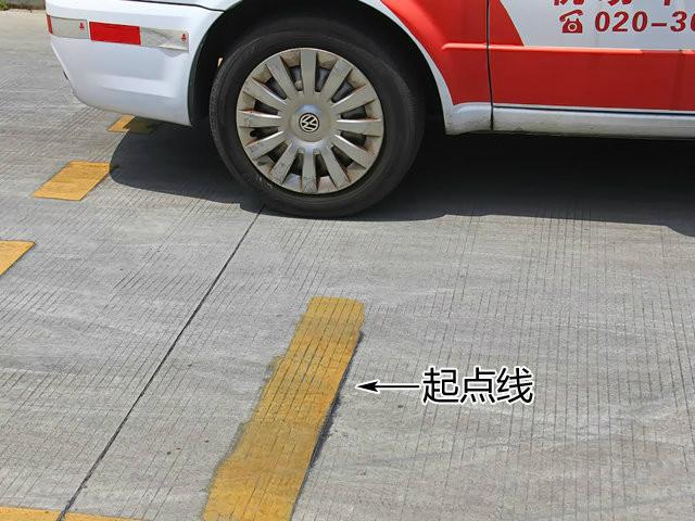 侧方位停车太简单,9张图分分钟学会!