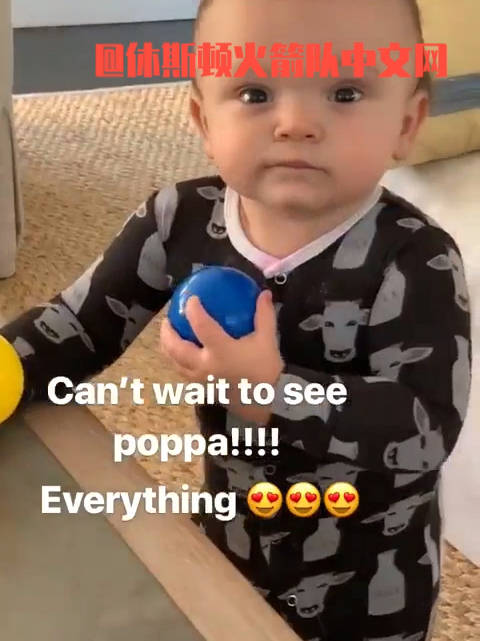 小里弗斯ins晒自己儿子视频好可爱啊,有没有?