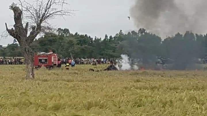 埃塞俄比亚空军一架苏-27战斗机在比绍夫特市附近坠毁