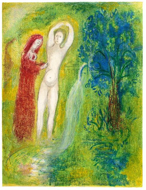 Marc Chagall 马克·夏加尔的绿