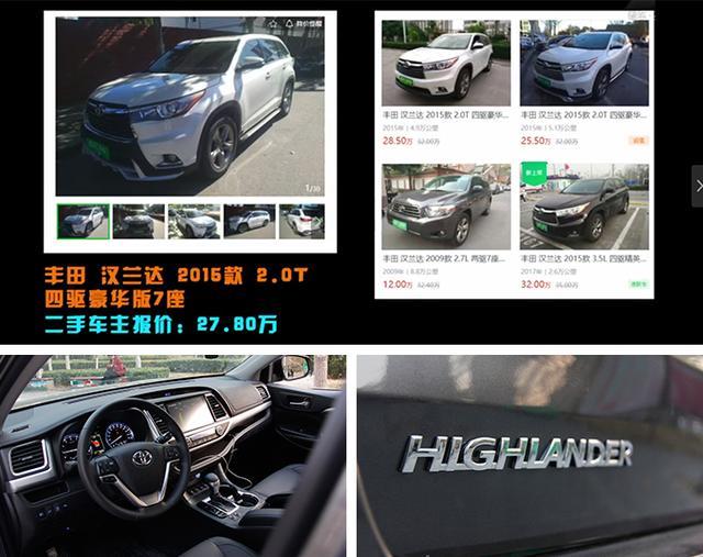 合资中型SUV标杆,购买汉兰达五大理由,换代新车2019年底上市