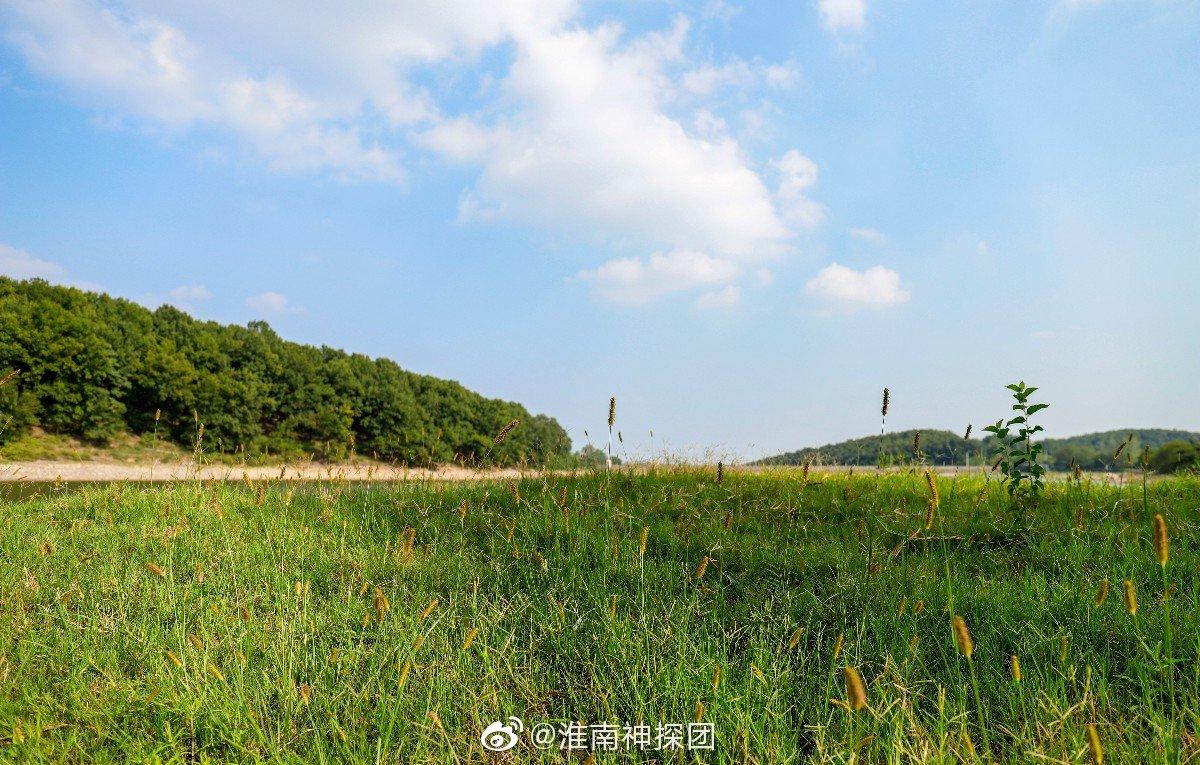 说来你们可能不信,这里就是淮南卧龙山风景区