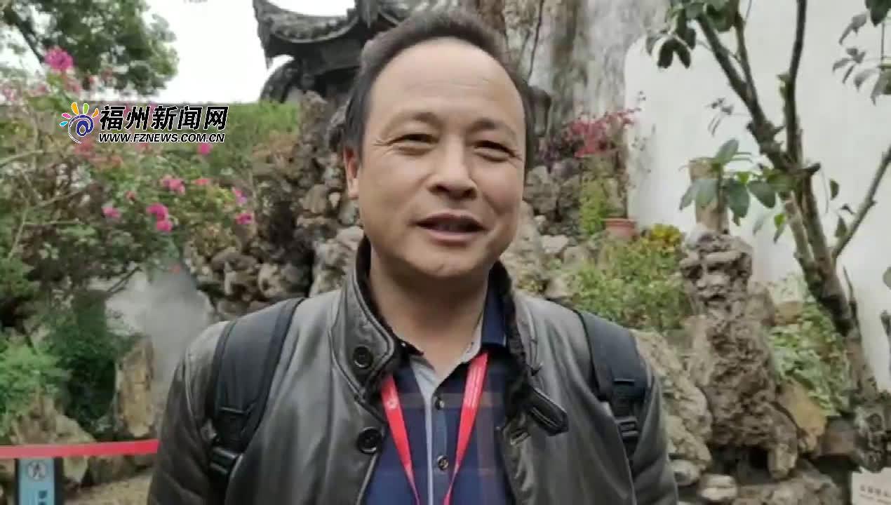 钱红兵:福州人杰地灵 希望借此机会探索和福州旅游业的合作