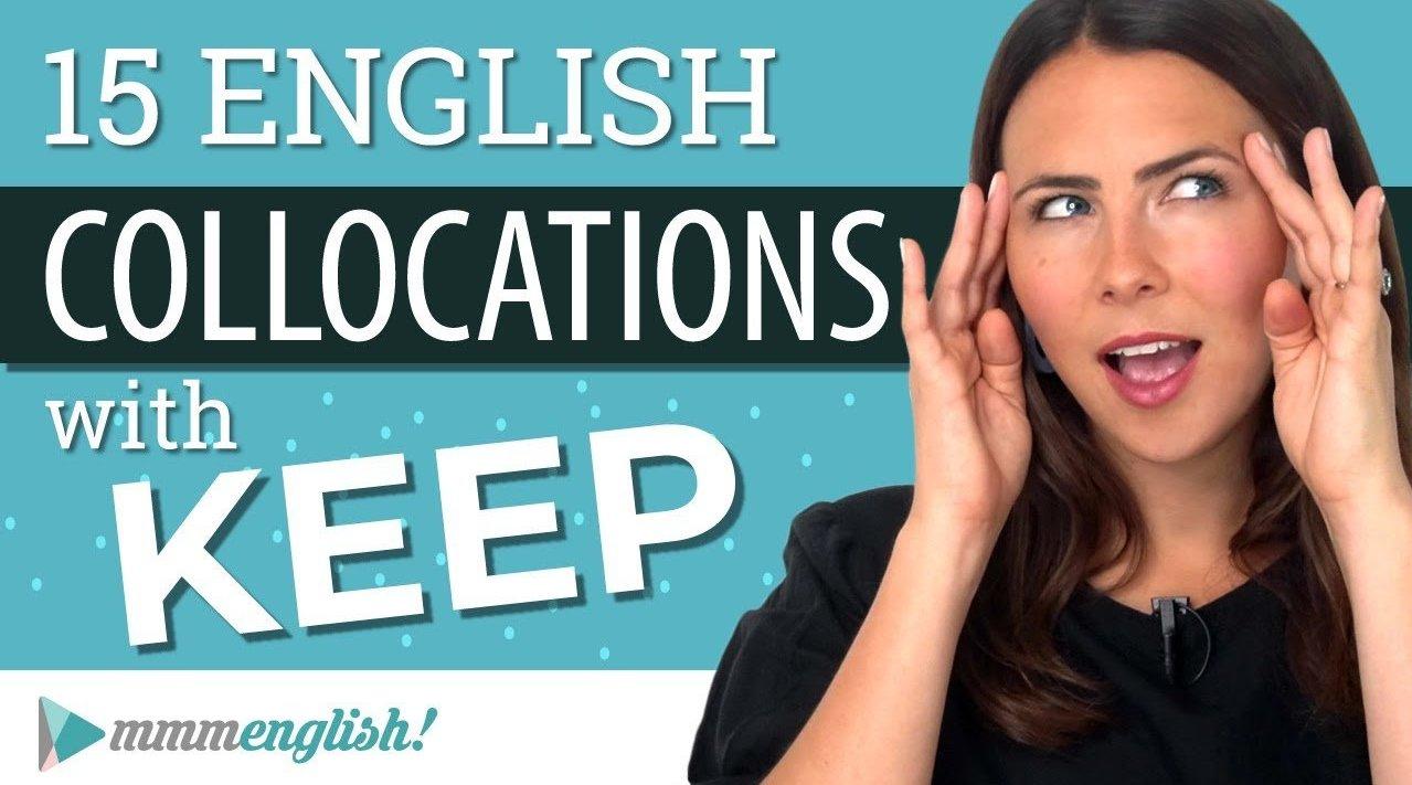 雅思词汇:25个含KEEP的高分动词短语(英文字幕)