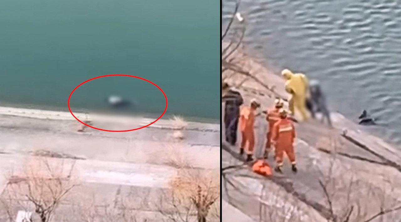 警方寻家属!年轻男子溺亡漂浮河道,全身无外伤腋下莫名夹着外套