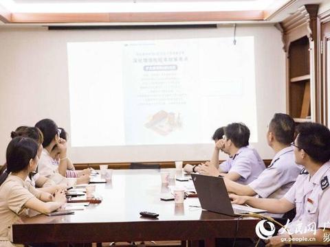 广西钦州保税港区税务局进企业为纳税人解答深化增值税改革疑难问题