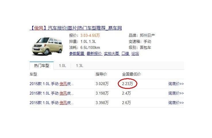 又一合资车真急了,售价直接降至2.23万,真的让摩托下不了台!