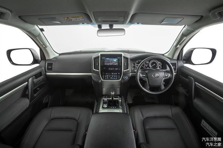 或取消V8采用V6混动 外媒解读全新丰田兰德酷路泽300(LC300)