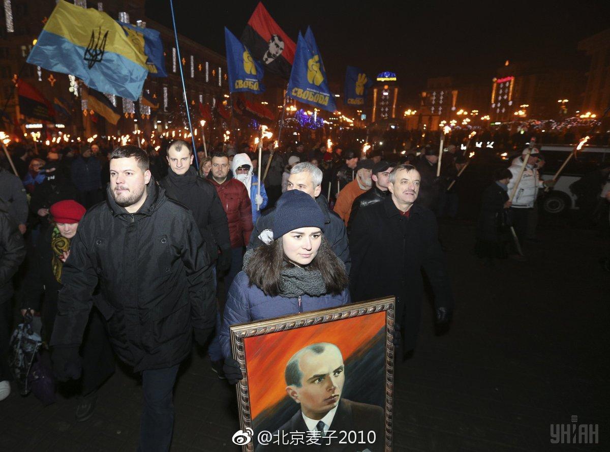 乌克兰1月1日…乌政府将这天列为国家节日,庆祝班杰拉诞辰