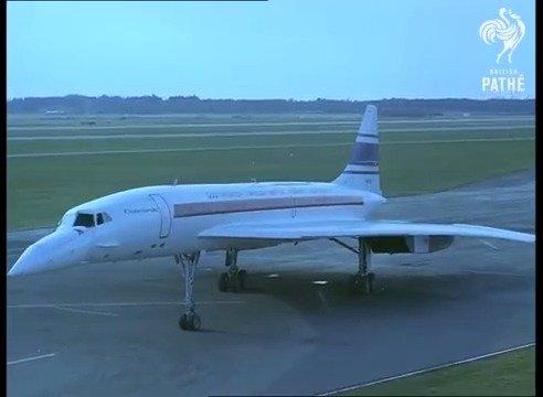 1969年的3月2日,一代名机协和超音速客机首飞