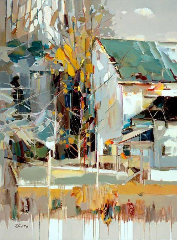 阿尔巴尼亚画家 Josef Kote www.josefkotefineart.com