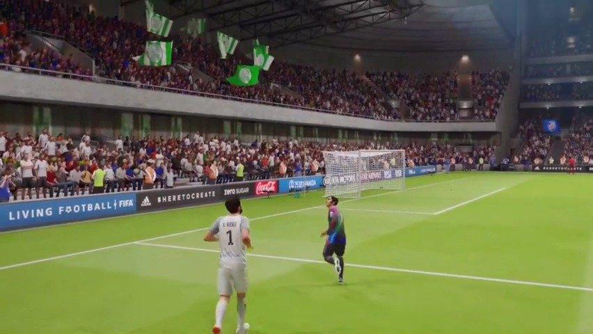 FIFA本年度最强乌龙球,被门将单拳直接捶进死角