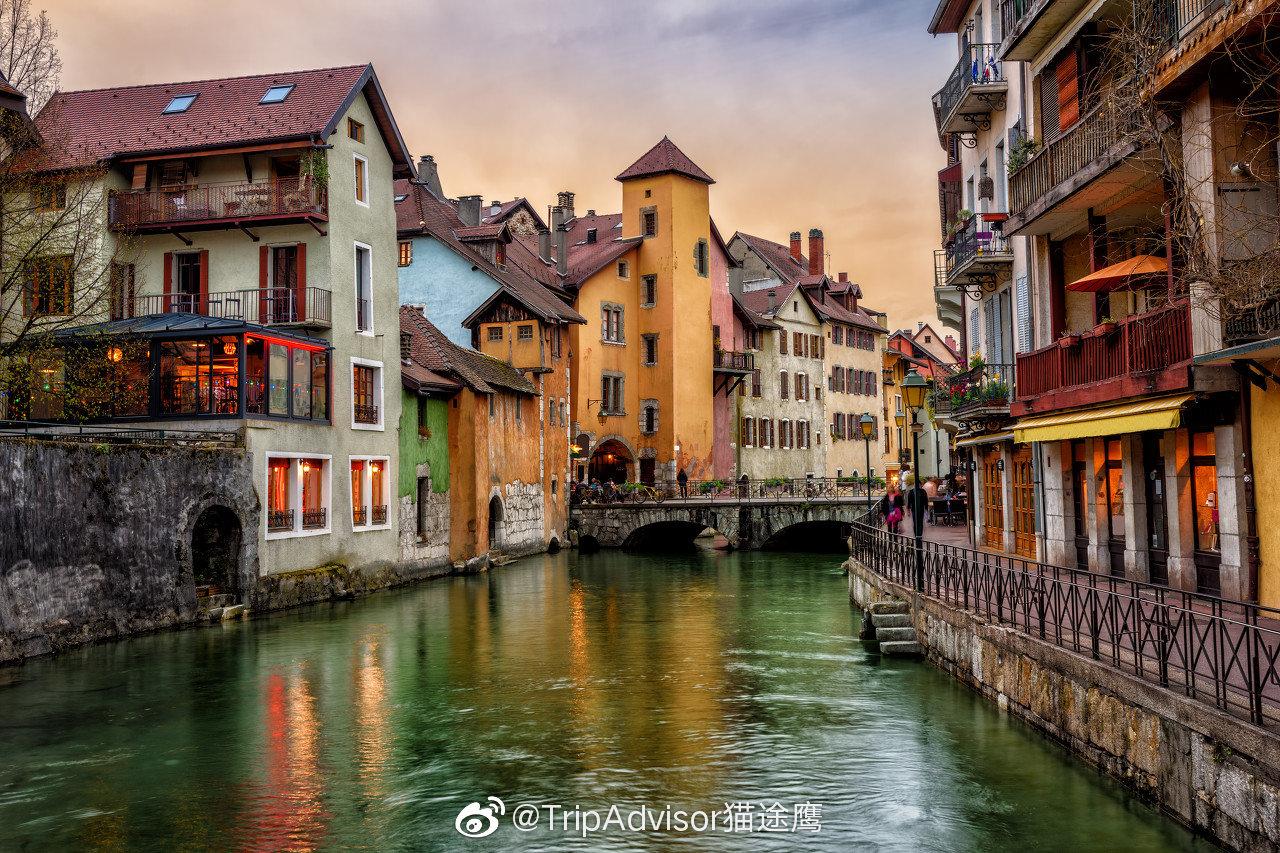 安纳西是法国阿尔卑斯山区最美丽的小镇