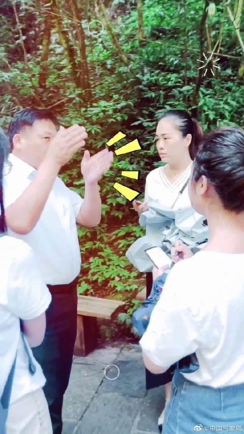 """8月14日,""""壮丽70年·奋斗新时代""""走基层看气象重庆采访团一行"""