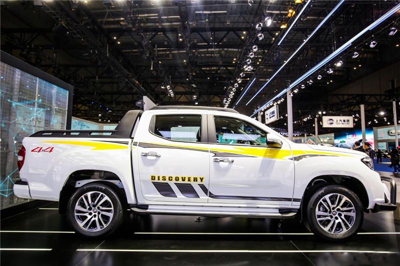 上汽大通T70将于6月6日上市 柴油动力满足国六排放标准