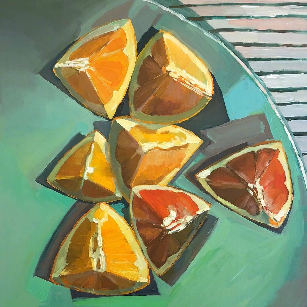 来自画家 Erika Lee Sears 写生作品  |  www.atinyrocket.com
