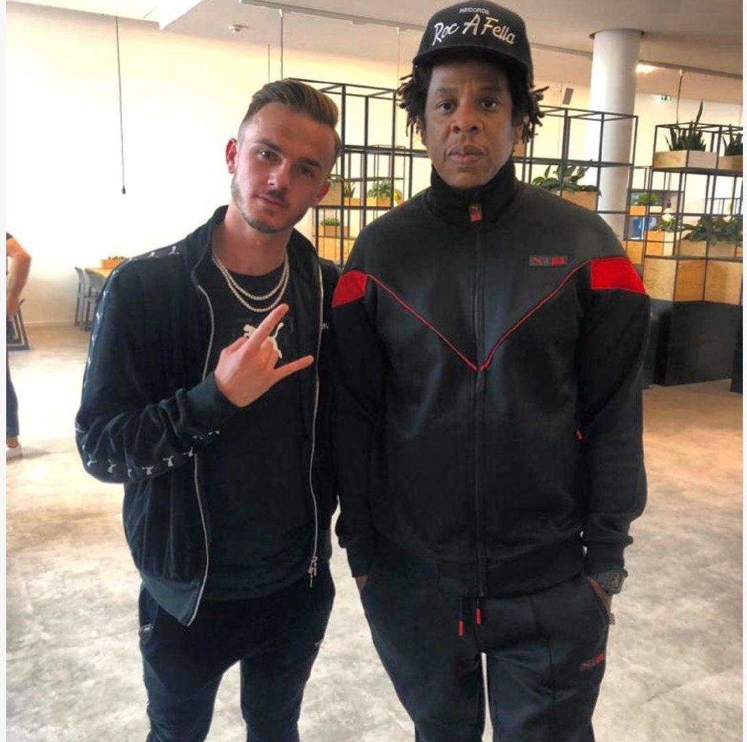 Madders 和他的粉丝 Jay-Z