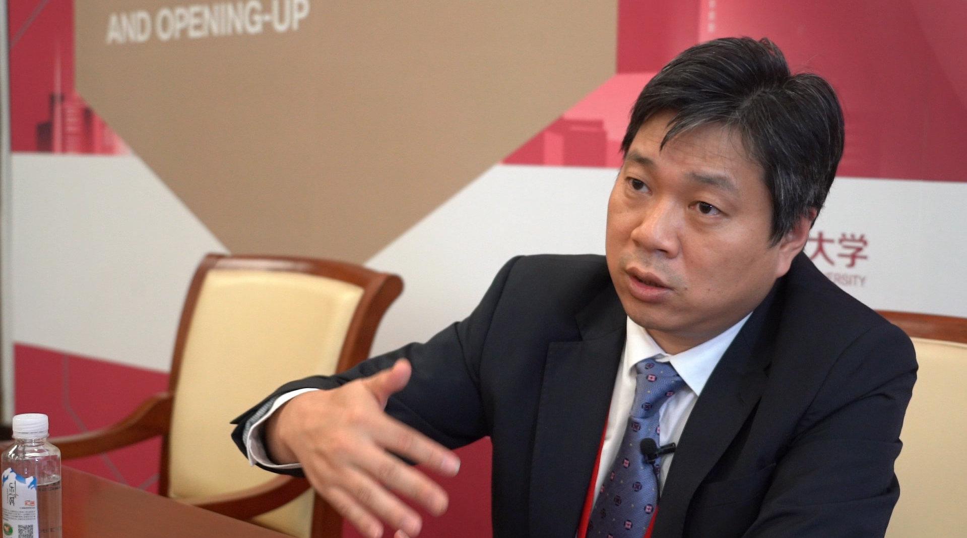 朱海斌:怎么样解决小微企业金融难的问题