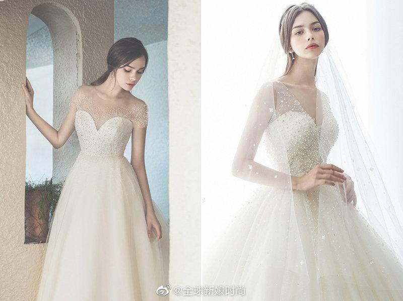 极简与华丽的梦幻组合 – 26件低调奢华的珠宝婚纱