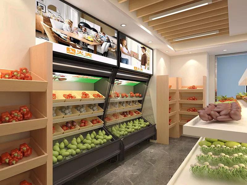 水果店切忌盲目追求精装修,空间设计布局合理更重要