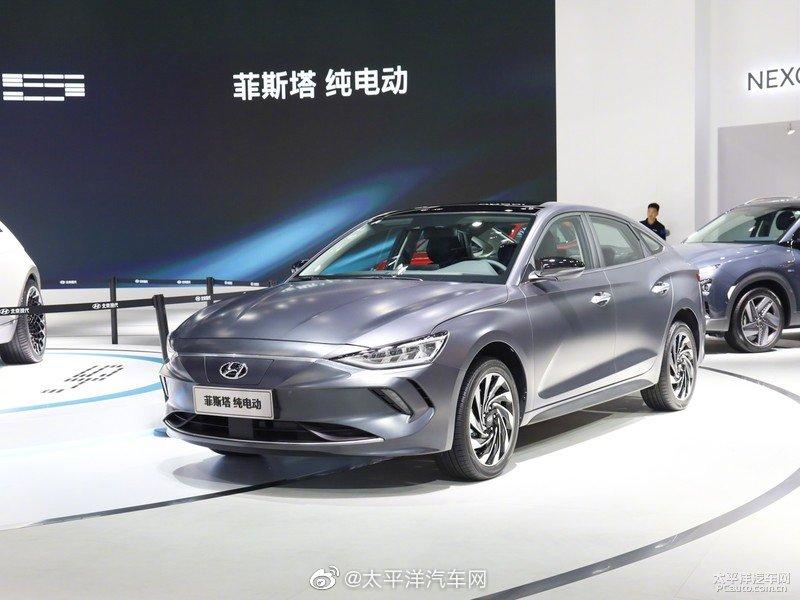 北京现代菲斯塔EV将于2月底上市。新车此前在2019广州车展首发