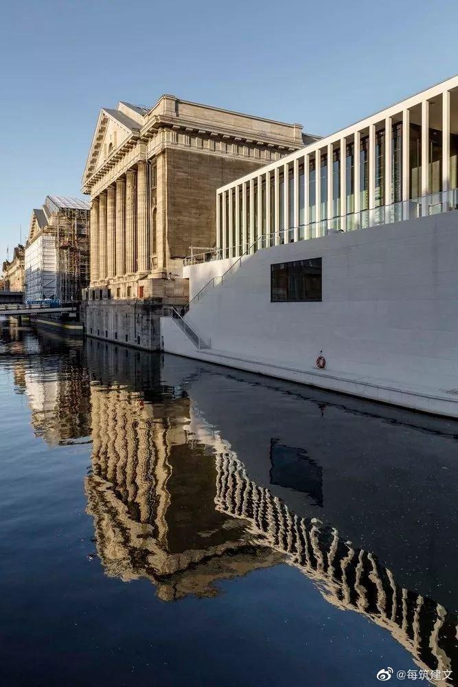 柏林博物馆岛美术馆一瞥大卫·奇普菲尔德建筑师事务所设计的James-Si