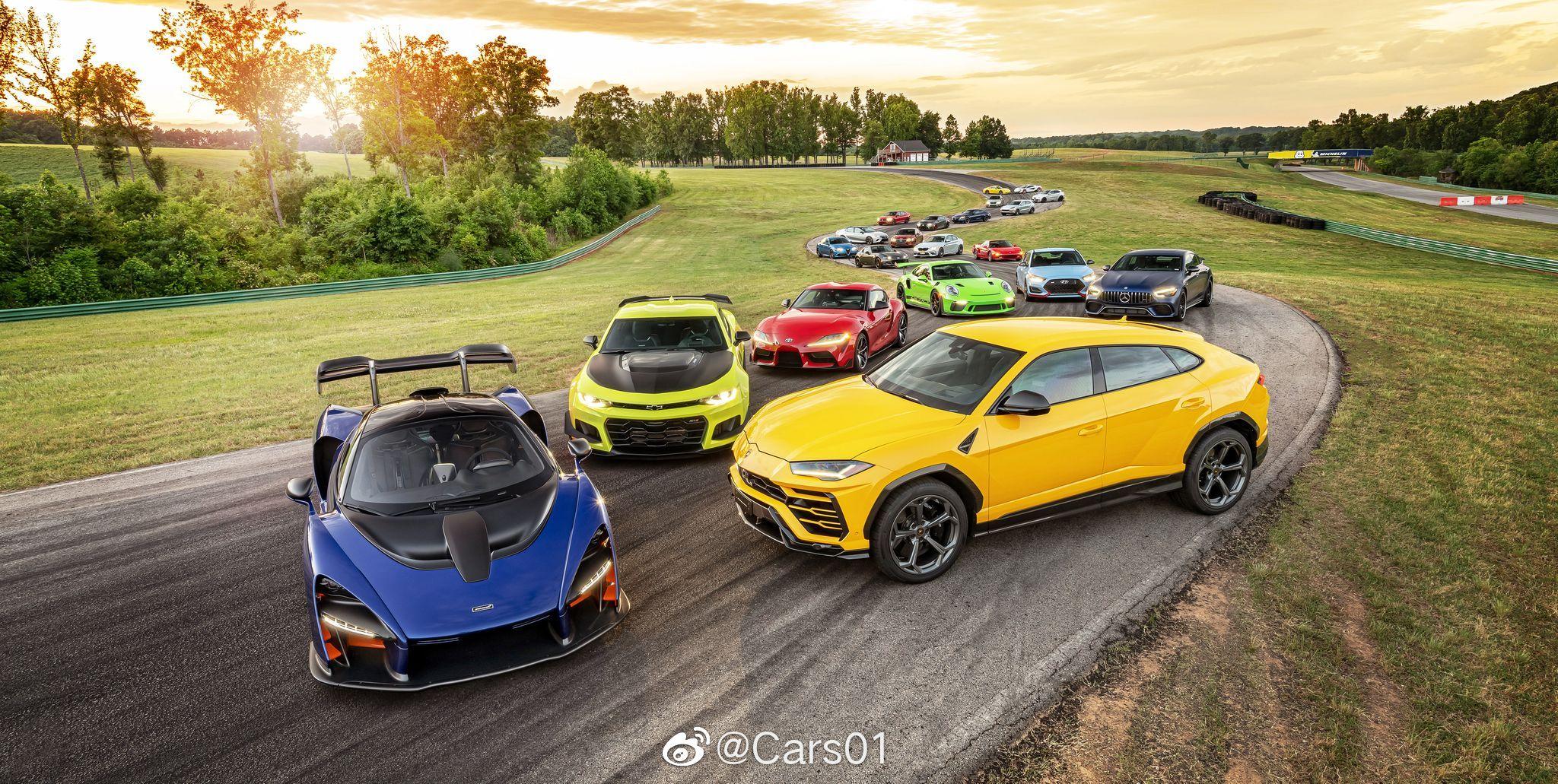 美国著名汽车杂志Car and Drive一年一度的Lightning Lap在弗吉尼亚国