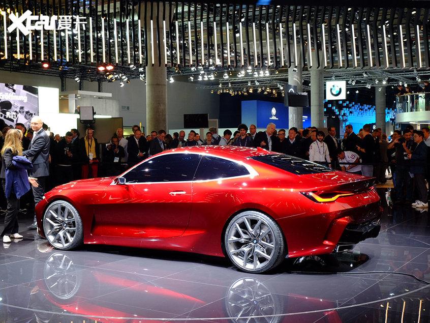 法兰克福车展 宝马Concept 4概念车亮相