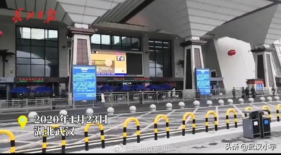 武昌火车站停止运营,空旷站前广场上环卫女工坚守岗位