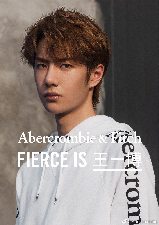 曾经以肌肉男为卖点的美国休闲服装品牌Abercrombie & Fitch宣布王一