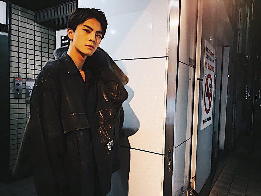 23 岁的日本演员中尾畅树出身埼玉县