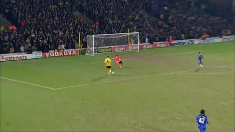 2009年的今天,切尔西3-1击败沃特福德,阿内尔卡上演帽子戏法