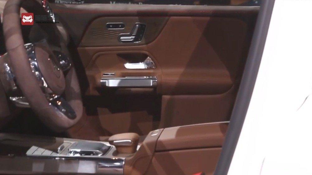 2019上海车展 硬朗7座奔驰概念GLB 内饰很豪气  全新的奔驰CONCEPT G