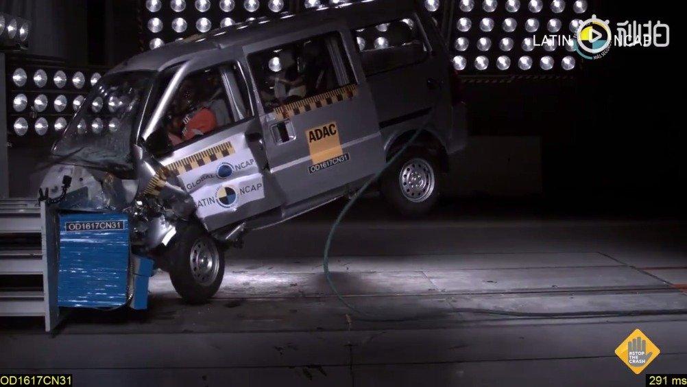 视频:神车五菱荣光--碰撞测试0分。。。