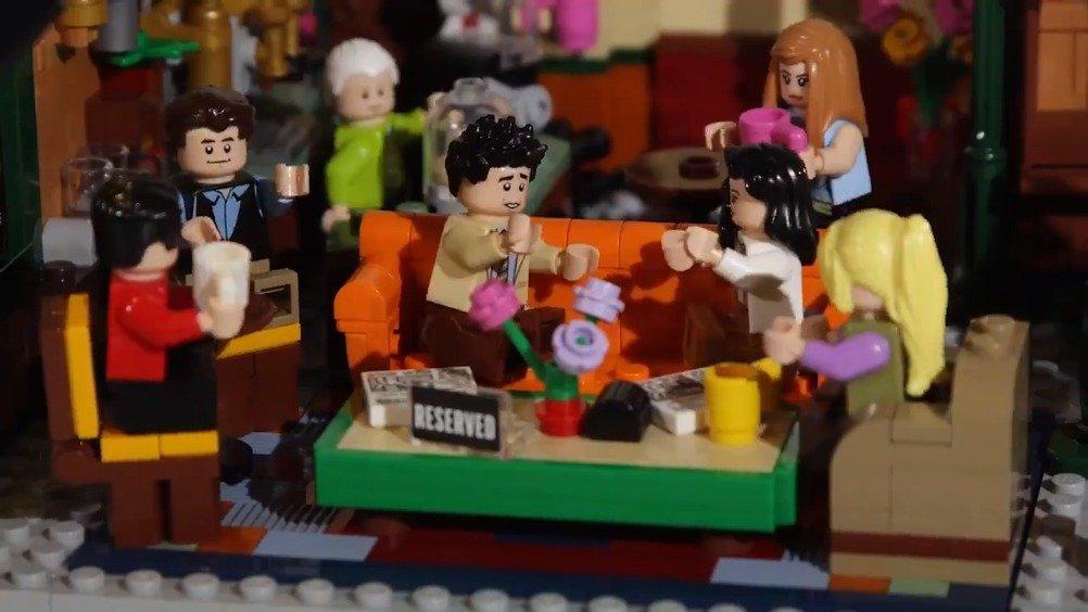 LEGO IDEAS x 《老友记》 25周年特别版 Central Perk 场景套装 ,59