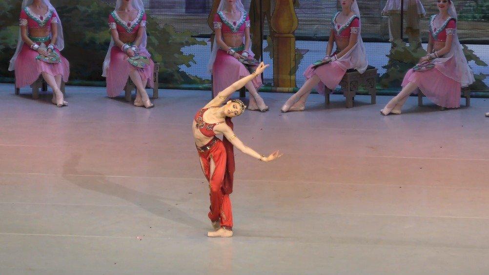 2019年9月20日 克里姆林宫芭蕾舞团 舞姬 二幕蛇舞和尼基娅之死 Marti