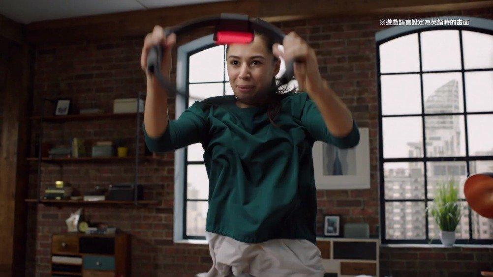 任天堂官方在今天公开了《健身环大冒险》的中文宣传片