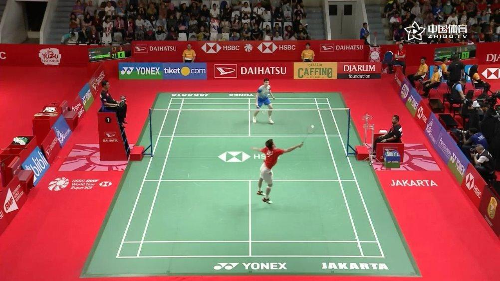 精彩五佳球   印尼大师赛 石宇奇 vs 李卓耀